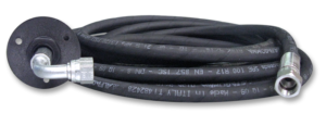 1290503 Flexible tube with pre-crimped fittings
