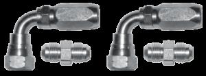 2200021 Set of adjustable elbow fittings flexible tube tube quarter BSPP