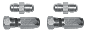 2200123 Set of straight fittings flexible tube quarter BSPP
