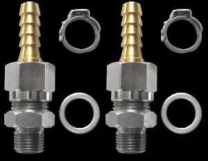 2200807 Set of straight fittings flexible tube