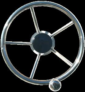 2202462 LS Sainless Steel Wheel with Knob 275