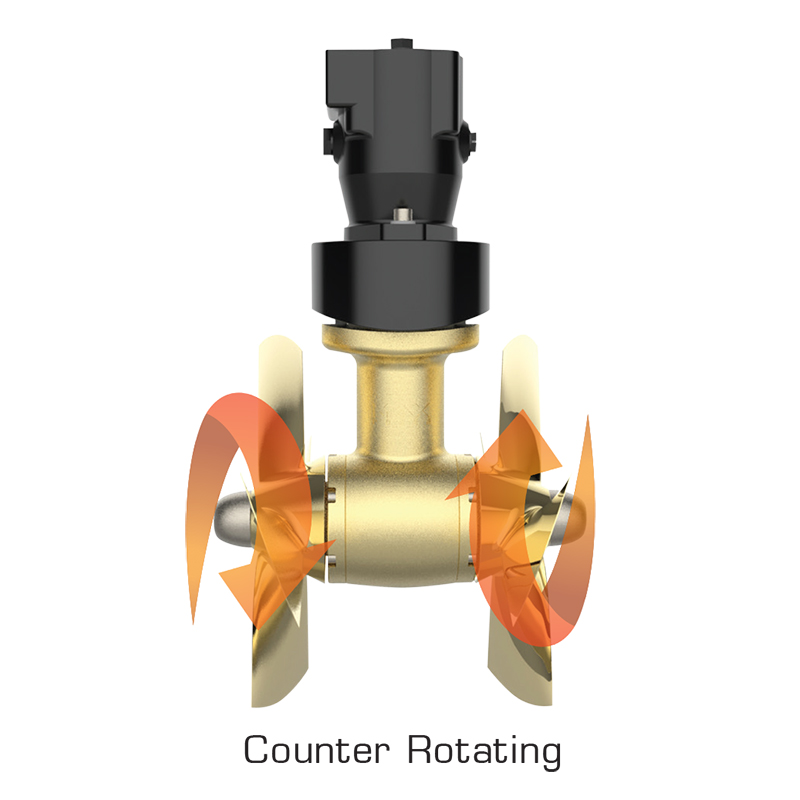 CT HYD 550 Hydraulic Tunnel Thruster Counter Rotating